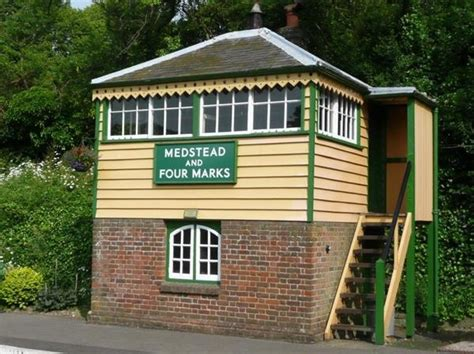 kenley signal box is an entrant for shed of the year 2012 medstead and four marks signal box watercress line