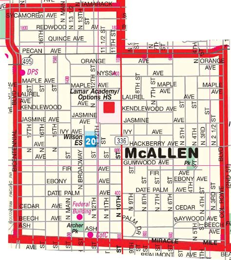 map of mcallen texas mcallen tx map related keywords suggestions mcallen tx map keywords