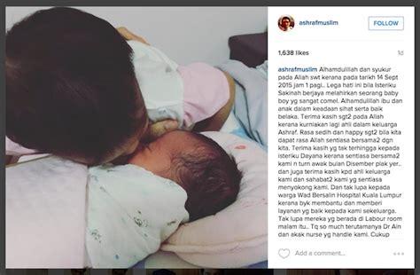 Syukur Ucap ashraf muslim ucap rasa syukur sambut anak kedua