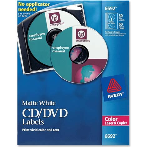 avery dvd labels template printer