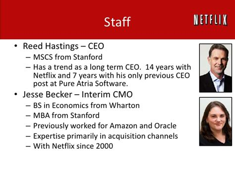 Mba In Stanford Quora by Netflix Competitive Landscape