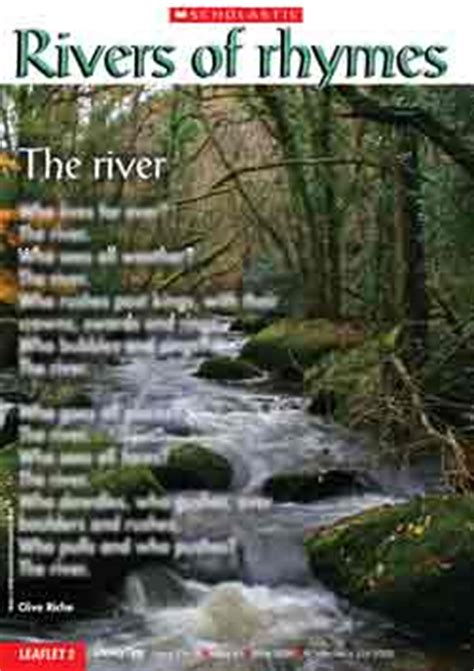 theme of education in the river and the source rivers of rhymes free teaching resource scholastic