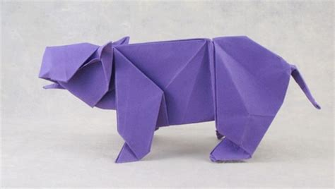 origami hippo tanteidan 14th convention book review gilad s origami page