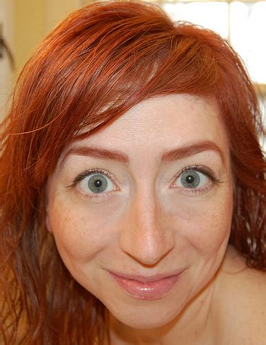 natural redhead eyebrows what i wore 2day ginger brows