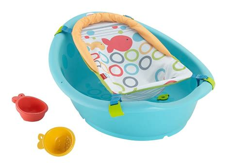 fisher price bathtub sling fisher price rinse n grow tub with sling