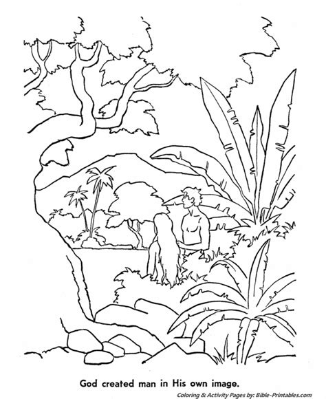 christian coloring pages about creation coloring pages