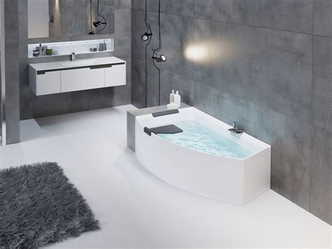 vasca da bagno angolare vasca da bagno angolare asimmetrica divina o novellini