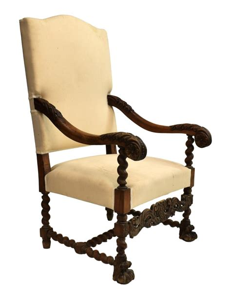 louis xiv armchair french louis xiv style carved armchair 19th c april