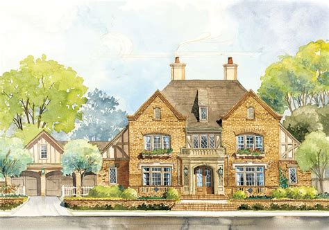 english country house plans classic english country home plan 56144ad