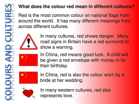 what does it to in color other cultures 3rd may ppt