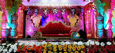 decoration pictures wedding stage decoration vel sokkanathan thirmana