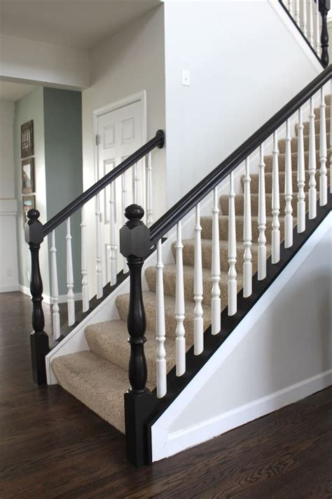 painted banister ideas 17 best ideas about carpet stairs on pinterest hardwood stairs carpet treads and