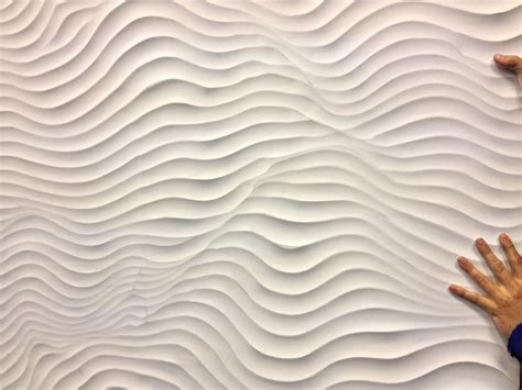 3d wall panel 3d mdf chaos panel primed ready to paint