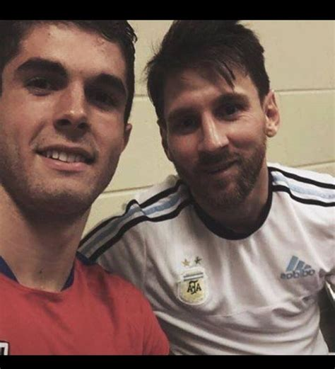 messi brother tattoo christian pulisic and lionel messi soccer boys