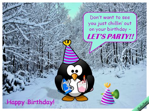 Winter Birthday Cards Winter Birthday Party Free Funny Birthday Wishes Ecards