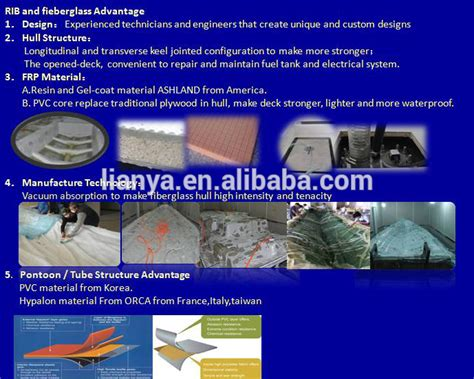 aluminium boot waterdicht maken liya 20 personen rib boot opblaasbare boot te koop china