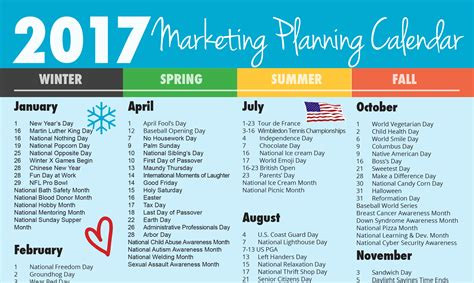 Ultimate 2017 Marketing Planning Calendar Rebecca Vandenberg Web Services Marketing Calendar Template 2017
