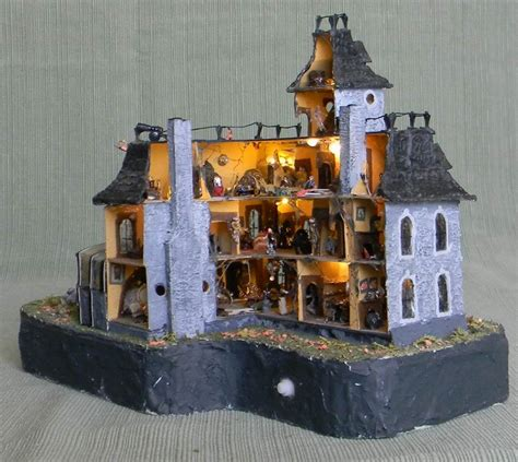 the doll family house addams family values dollhouse angled interior view