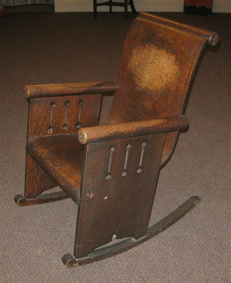 Style Rocking Chair - antique mission style nouveau rocker rocking
