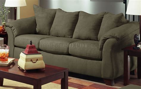 olive couch olive microfiber modern sofa loveseat set w optional items