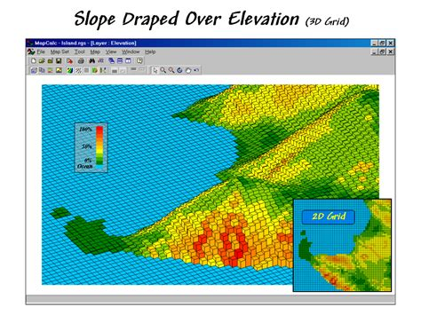 spatial pattern analysis gis mapcalc general description