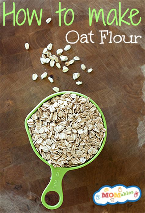 how to make oat flour the simple way