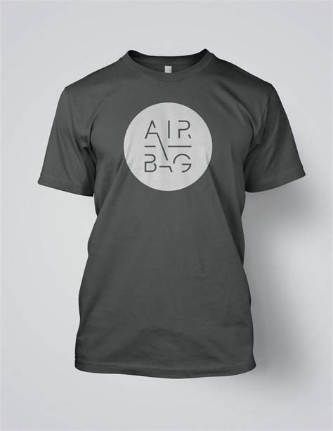 Kaos Earth Day 1 Seven airbag quot airbag white logo t shirt quot t shirt karisma records