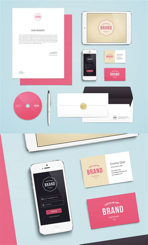 mockup graphic design free psd mockup templates 28 mockups freebies
