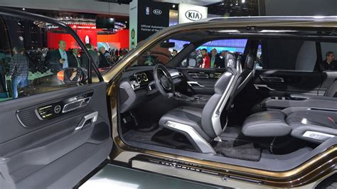Kia Telluride For Sale by Kia Telluride Concept Hints At Fullsize Upscale Suv