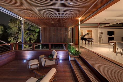 outdoor seating area gorgeous multi level family house in sydney charms with