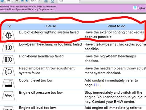 bmw 3 series warning symbols list strange warning symbol sun w hat