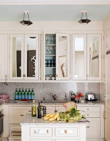 mirrored kitchen cabinets 6 alternative and stylish cabinet doors