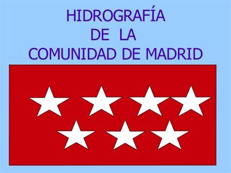 i comunidad de madrid industriamadridccooes hidrograf 237 a comunidad de madrid