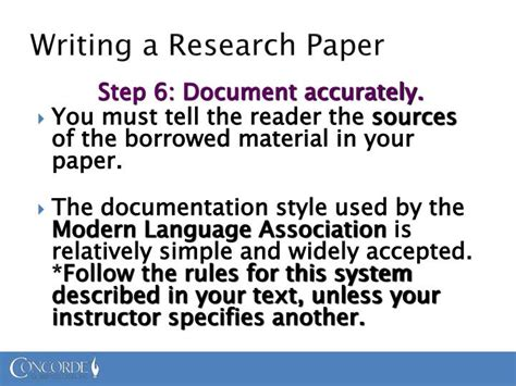 steps in writing term paper steps in writing a research paper ppt writing an