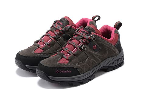 columbia grey pink womens sports shoes 40872667 71 00