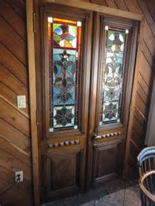 Antique Glass Front Bookcase Glass Door Bookcase Antique Antique Stained Glass Doors