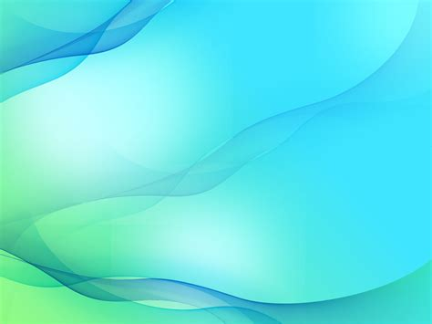 Abstract Smooth Wave Backgrounds Abstract Blue Green Templates Free Ppt Grounds And Powerpoint Powerpoint Slide Templates