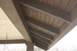 Building A Cornice Board Soffits Up Close Extreme How To