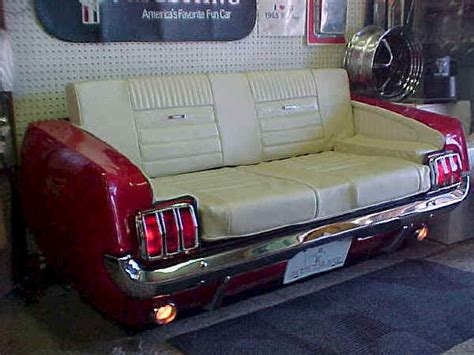 mustang couch m accessories