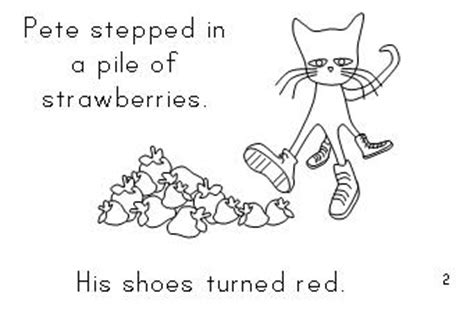 pete the cat coloring page i love my white shoes 100 day activities all about me