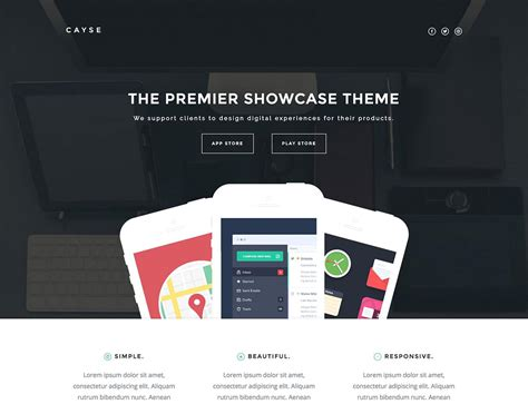 theme with page templates 35 best landing page themes 2019 athemes