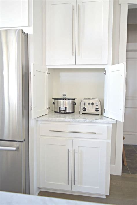 Appliance Storage Cabinet 25 Best Ideas About Appliance Cabinet On Pinterest Appliance Garage Kitchen Appliance