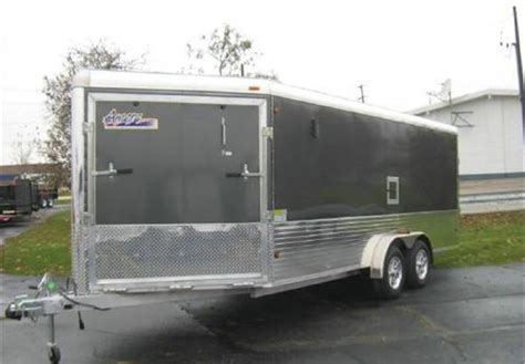 A Place Trailer 1 3 Place Inline Aluminum Snowmobile Trailer Advantage Trailer