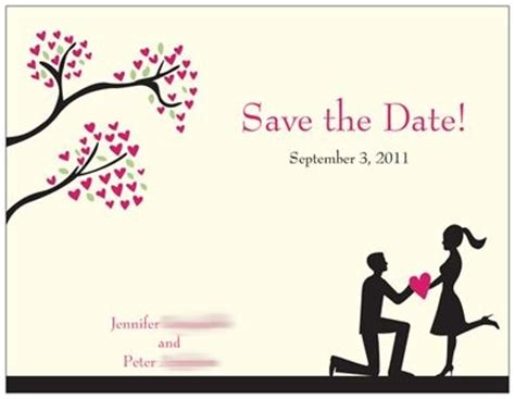 save the date template importance of save the dates weddingbee