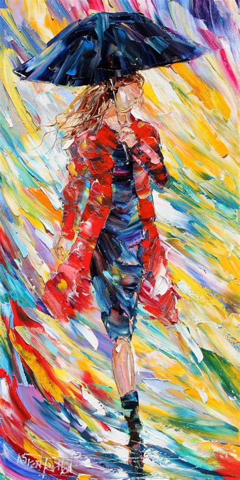 printable fine art fine art print rain dance in red prints from oil