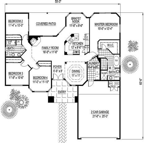 santa fe southwest house plan 54678 house plan 54678 at familyhomeplans com