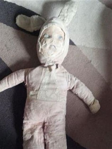 ebay haunted dolls it scratched my face haunted doll goes under the hammer