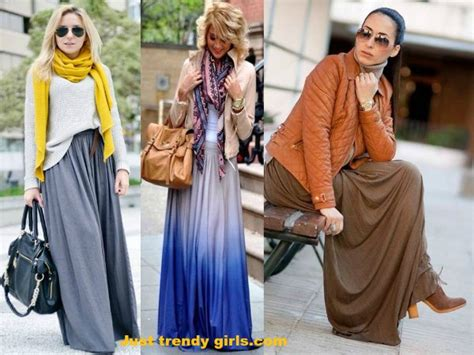 how to wear skirt in winter just trendy