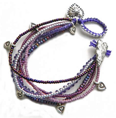 Plum Passion Bracelet   Bracelets, Beads and Seed bead bracelets