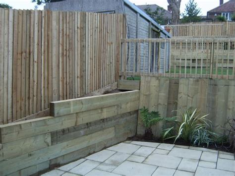 Diy Retaining Wall Sleepers by Course Of Sleeper Retaining Wall Diynot Forums